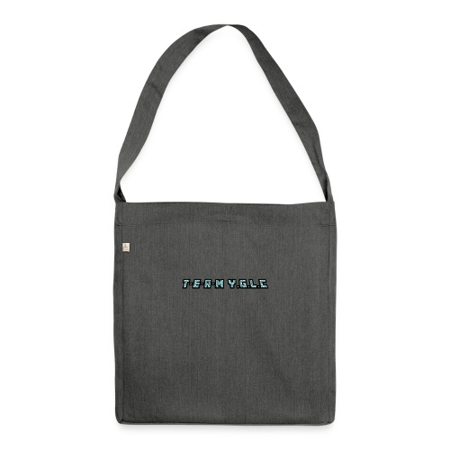 Limited Edition T-E-A-M-YGLC T-shirt - Shoulder Bag made from recycled material