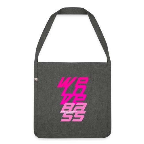 welovebass009 - Schultertasche aus Recycling-Material