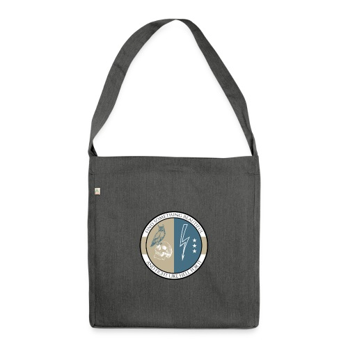 Geosmine Old School - Shoulder Bag made from recycled material