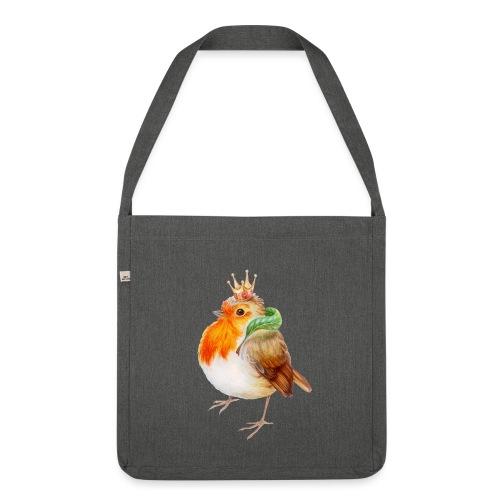 Koninklijk Roodborstje - Shoulder Bag made from recycled material