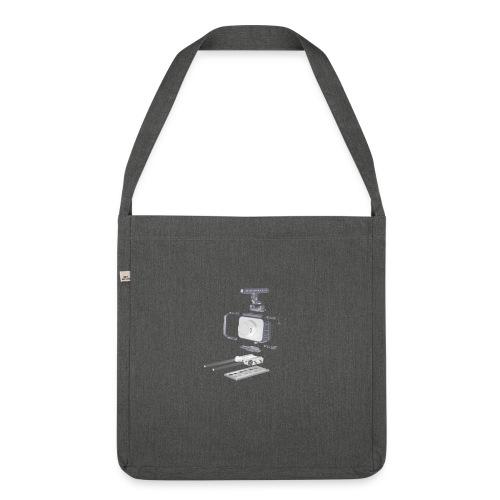 VivoDigitale t-shirt - Blackmagic - Borsa in materiale riciclato