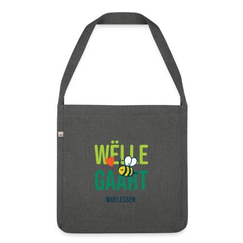 De Wëlle Gaart - Schultertasche aus Recycling-Material