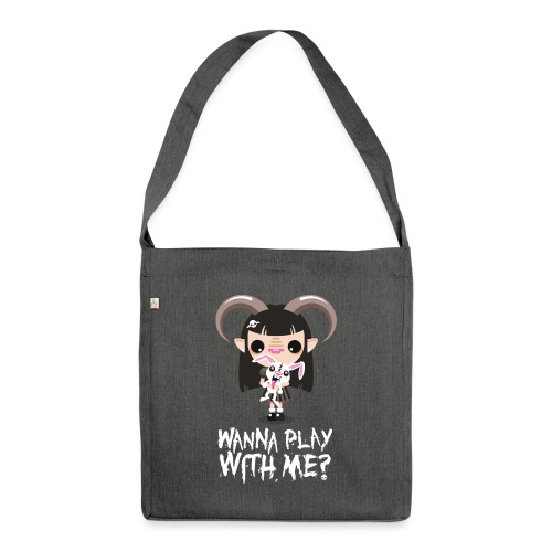 Wanna play with me? - Borsa in materiale riciclato