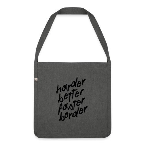 Better Faster Border - Sac bandoulière 100 % recyclé