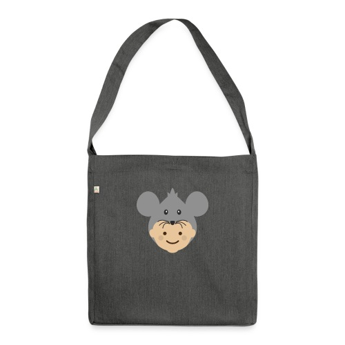 Mr Mousey | Ibbleobble - Shoulder Bag made from recycled material