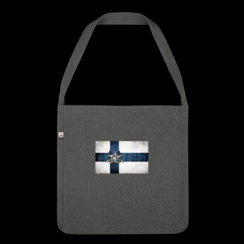 Suomen lippu - Olkalaukku kierrätysmateriaalista