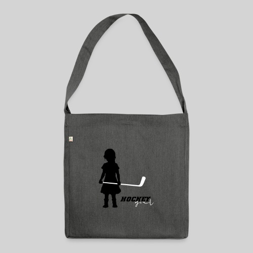 Hockey Girl I - Schultertasche aus Recycling-Material