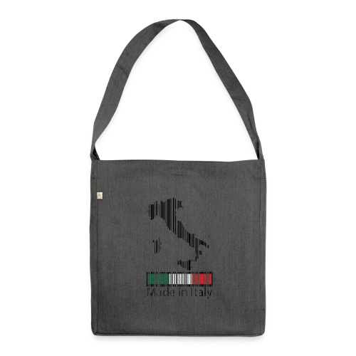 Made in Italy - Borsa in materiale riciclato