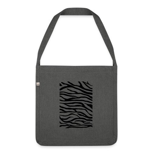 zebra v6 - Schoudertas van gerecycled materiaal