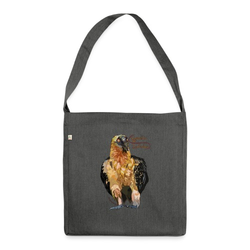 Gypaetus barbatus - Schultertasche aus Recycling-Material