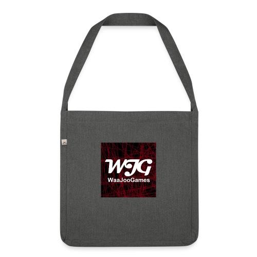 T-shirt WJG logo - Schoudertas van gerecycled materiaal