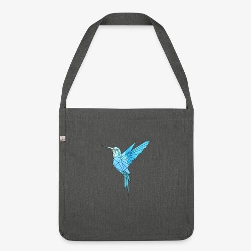 Kolibri Geometrisch - Schultertasche aus Recycling-Material
