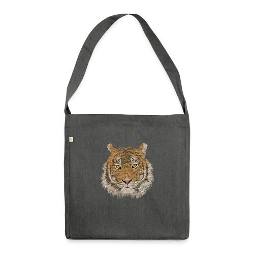 Tiger - Schultertasche aus Recycling-Material