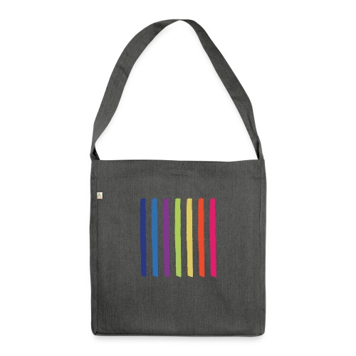 Lines - Shoulder Bag made from recycled material