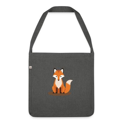 Fuchs - Schultertasche aus Recycling-Material