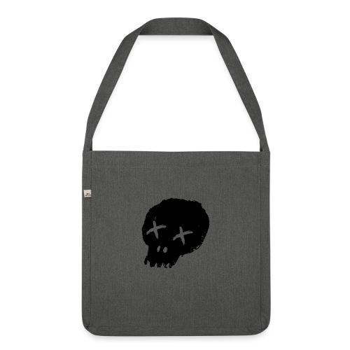 blackskulllogo png - Shoulder Bag made from recycled material