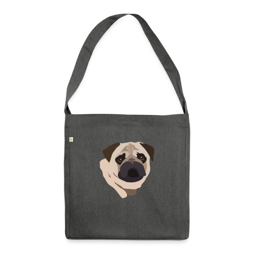 Pug Life - Shoulder Bag made from recycled material
