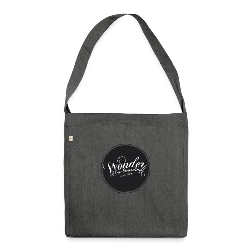 Wonder T-shirt - oldschool logo - Skuldertaske af recycling-material