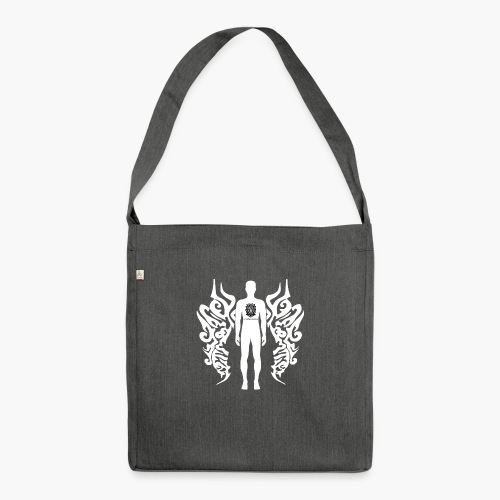 Houseology Original - Angel of Music - Shoulder Bag made from recycled material