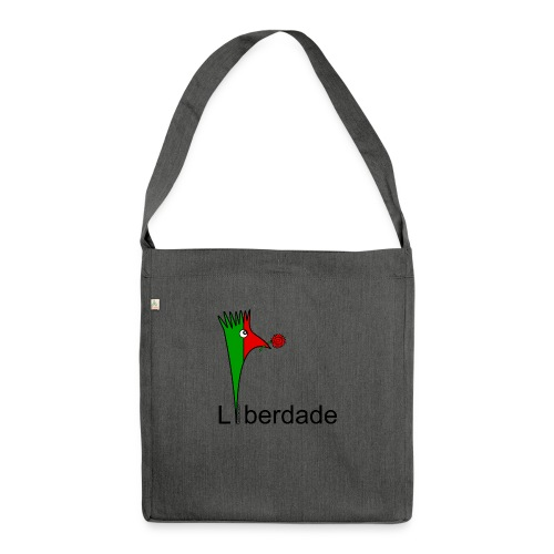 Galoloco - Liberdaded - 25 Abril - Schultertasche aus Recycling-Material