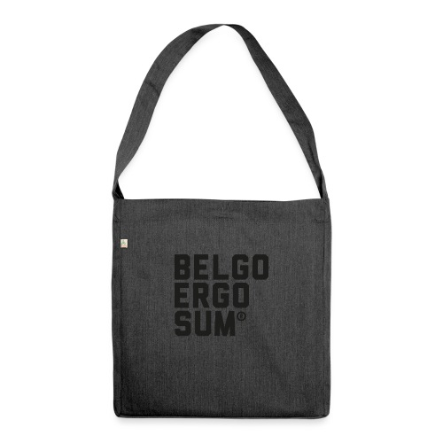 Belgo Ergo Sum - Shoulder Bag made from recycled material