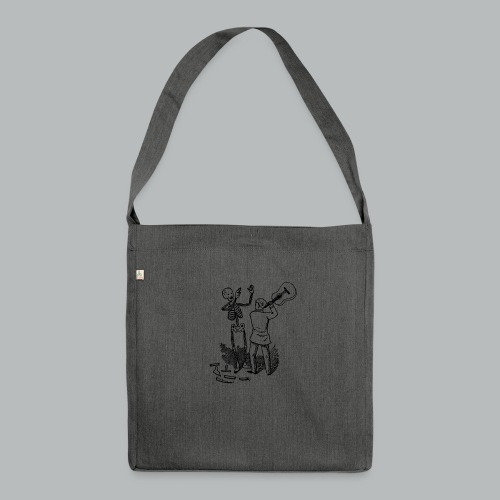 DFBM unbranded black - Shoulder Bag made from recycled material