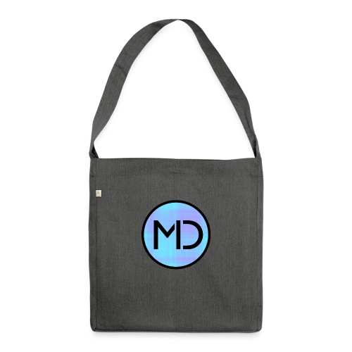 MD Blue Fibre Trans - Shoulder Bag made from recycled material
