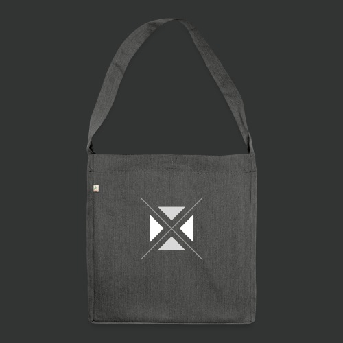 hipster triangles - Shoulder Bag made from recycled material