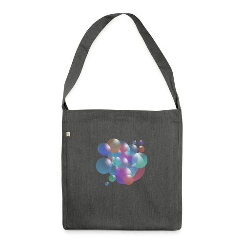 bubble - Schultertasche aus Recycling-Material