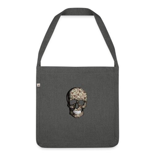 Skull Money Black - Bandolera de material reciclado