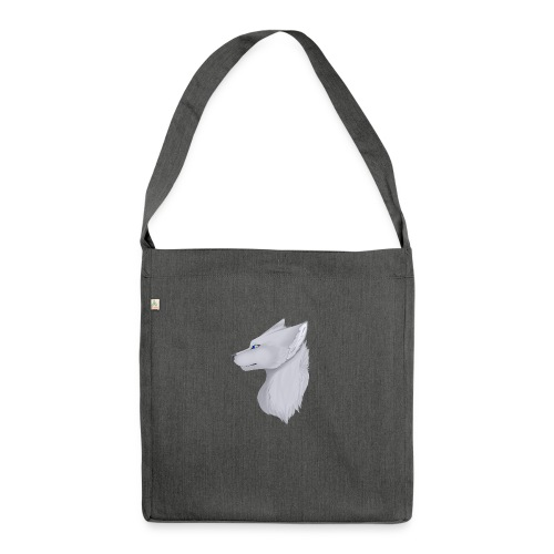 Wolf Skin - Shoulder Bag made from recycled material