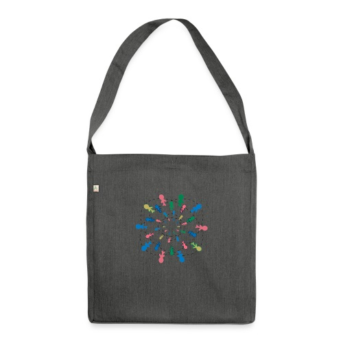People of the word ( Type 1) - Borsa in materiale riciclato