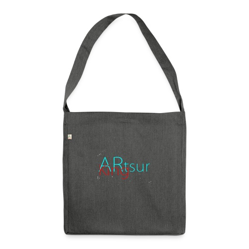 ARtsurKing Logo - Shoulder Bag made from recycled material