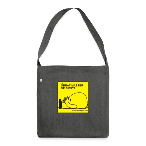 Great Master of Siesta - Shoulder Bag made from recycled material