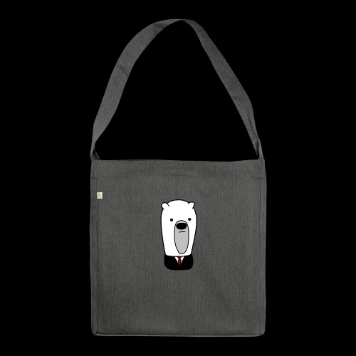 officel_polarbear_shop_logo - Skuldertaske af recycling-material