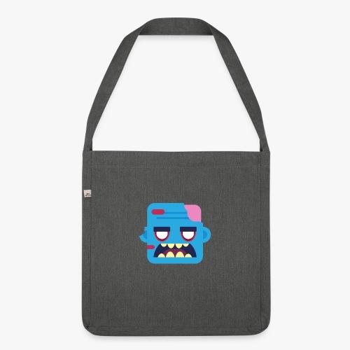 Mini Monsters - Zombob - Skuldertaske af recycling-material