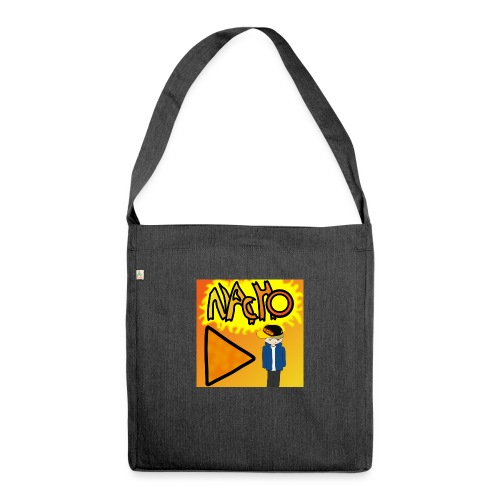 Nacho Title with Little guy - Shoulder Bag made from recycled material