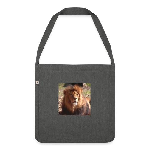 Lejon - Axelväska av återvinningsmaterial