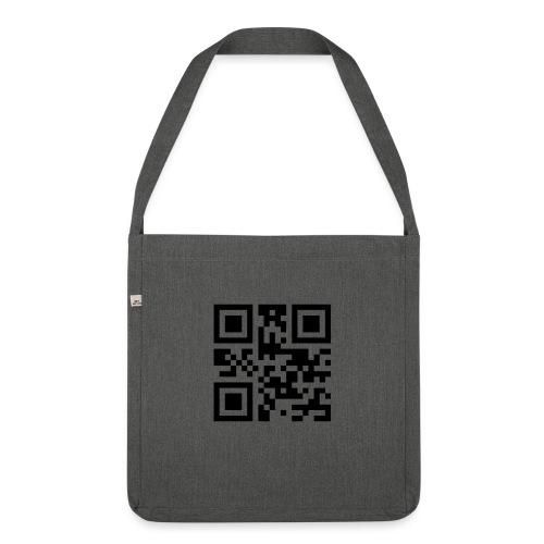 Sono Single QR Code - Borsa in materiale riciclato
