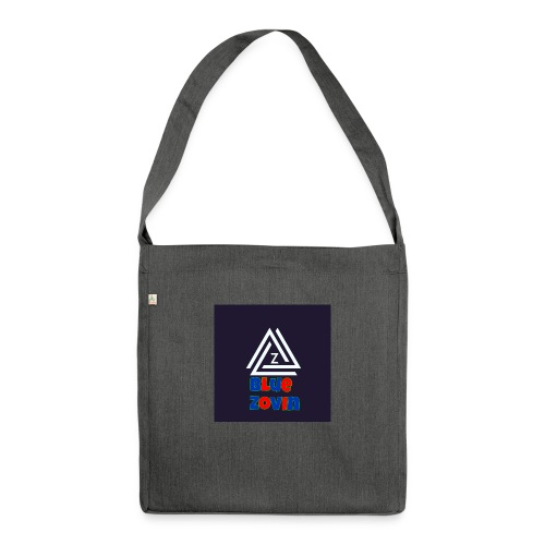 BlueZovinshirt - Shoulder Bag made from recycled material