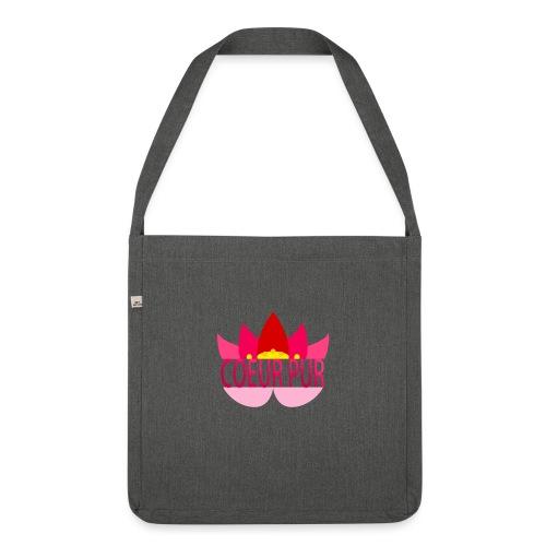 Lotus pur - Sac bandoulière 100 % recyclé