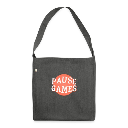 Pause Games Logo - Shoulder Bag made from recycled material