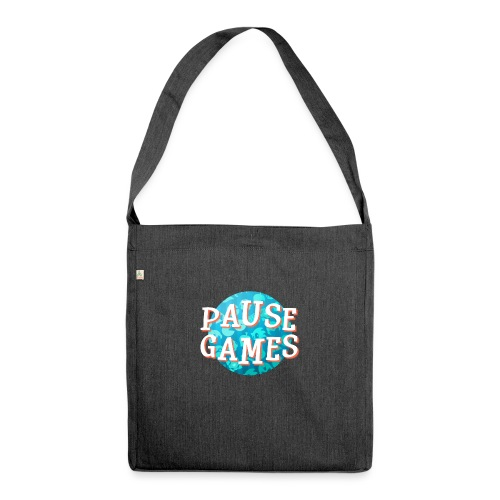 Pause Games New Version - Shoulder Bag made from recycled material