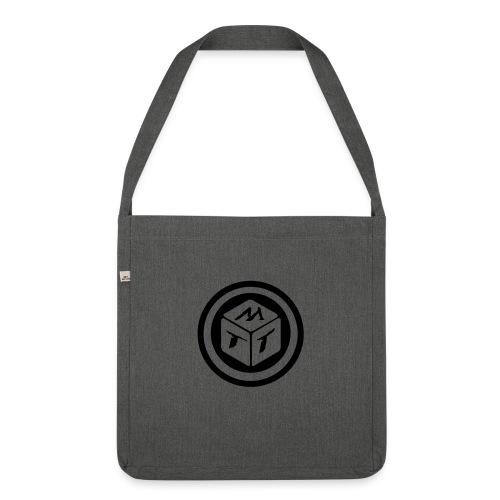 mb logo klein - Schultertasche aus Recycling-Material