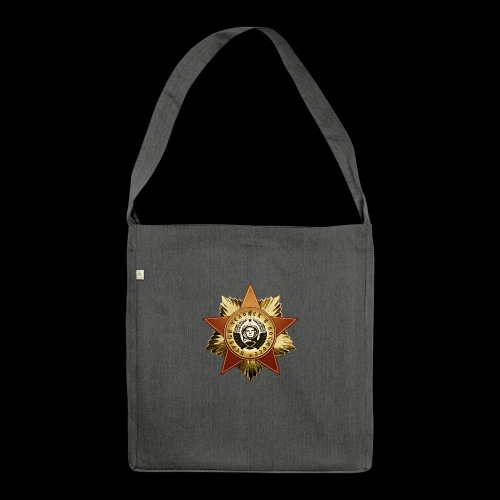 Cosmonaut Medal - Shoulder Bag made from recycled material