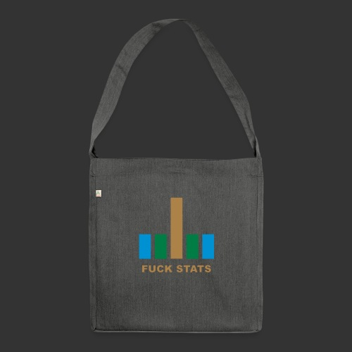 F*CK Stats - Sac bandoulière 100 % recyclé