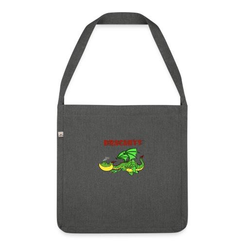 drache dacarys - Schultertasche aus Recycling-Material
