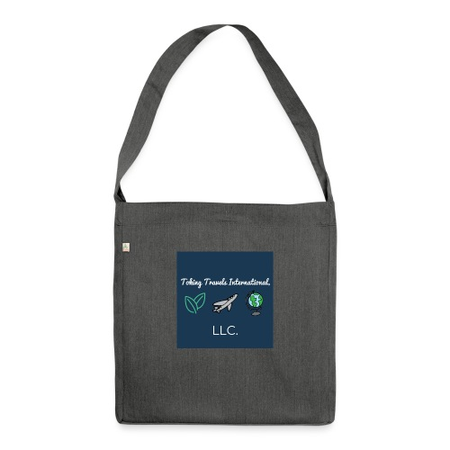 NEW Toking Travel Logo! - Shoulder Bag made from recycled material