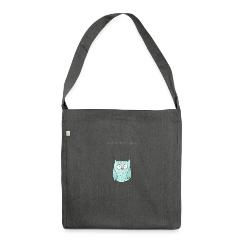 Hello Monday - Schultertasche aus Recycling-Material