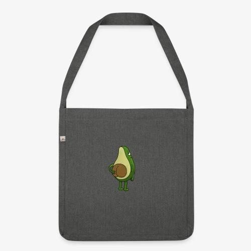 Avokado - Schultertasche aus Recycling-Material